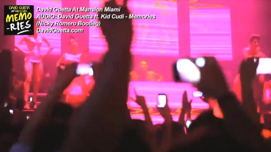 DAVID GUETTA Mansion Nightclub Miami