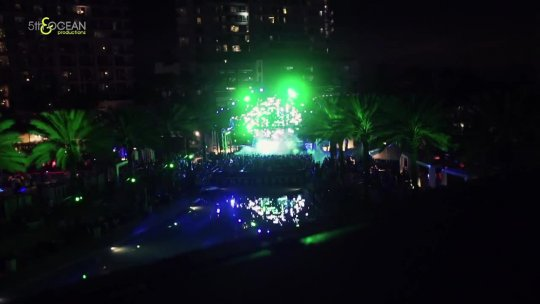 5th & Ocean New Years Eve For The Fontainebleau Miami Beach