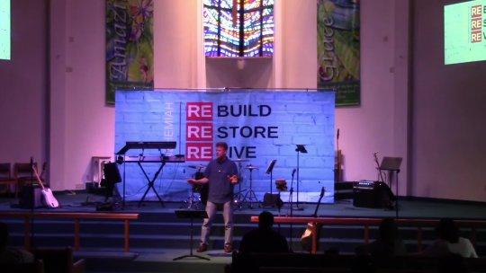 ReBuild by Pastor Stuart Bodin, Miami Lakes United Methodist Church