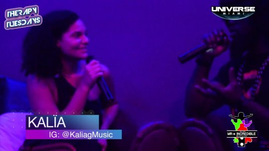 @Mr.incredibleshow Interview with @KaliagMusic at #THRAPYTUESDAYS