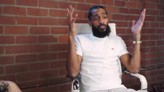 Nipsey Hussle Interview The Art of Being a  Selfmade Millionaire 2 of 3
