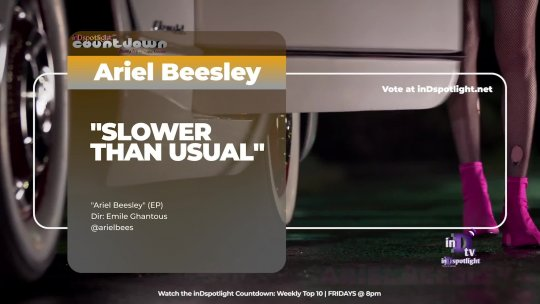 inDtv® Countdown Music Video | Ariel Beesley   SLOWER THAN USUAL