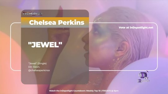 inDtv® Countdown Music Video | Chelsea Perkins   JEWEL