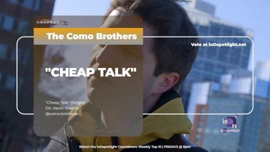 inDtv® Countdown Music Video | The Como Brothers   CHEAP TALK