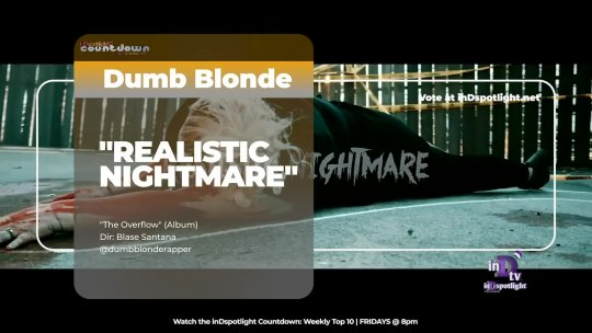 inDtv® Countdown Music Video | Dumb Blonde   REALISTIC NIGHTMARE