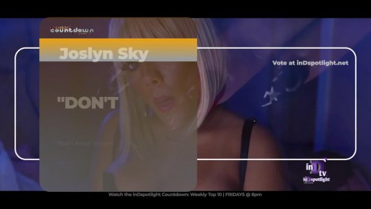 inDtv® Countdown Music Video | Joslyn Sky   DON'T KNOW