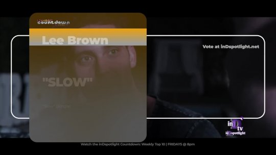 inDtv® Countdown Music Video | Lee Brown   SLOW