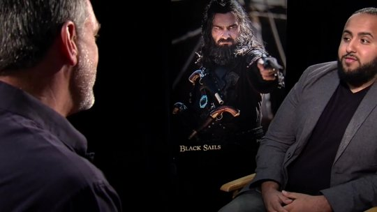 Ray Stevenson Talks About His Role on Black Sails